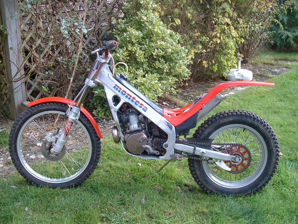 Sold: x2 trials bikes