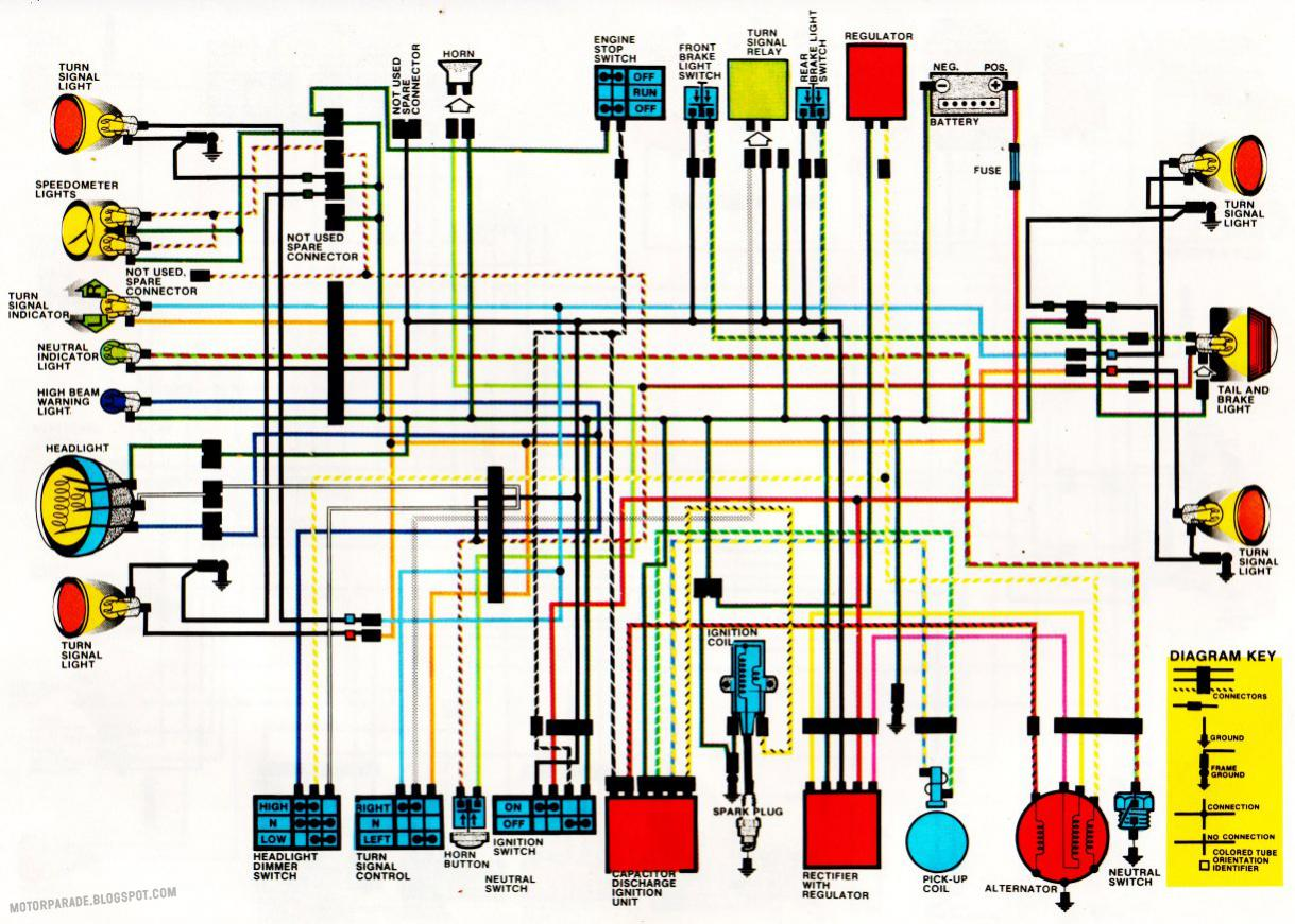 6v ac lighting question xl500s rh xrv org uk 1981 honda xl500s wiring diagram 1981 honda xl500s wiring diagram