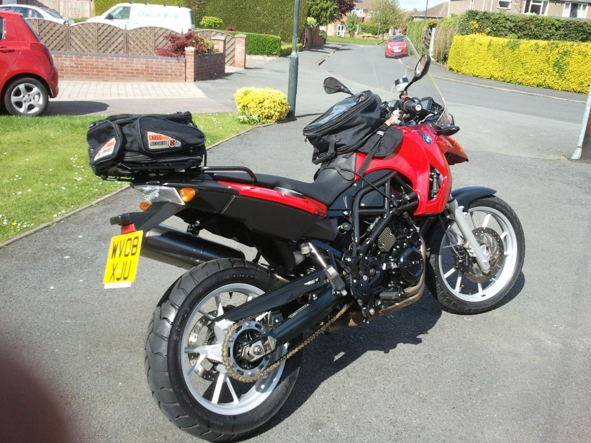 Ebay For Sale Bmw F650gs 800cc Twin 2008 Red On Bikes