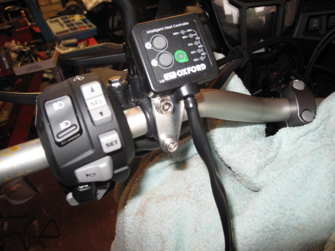 Crf1000l Install Oxford Heated Grips
