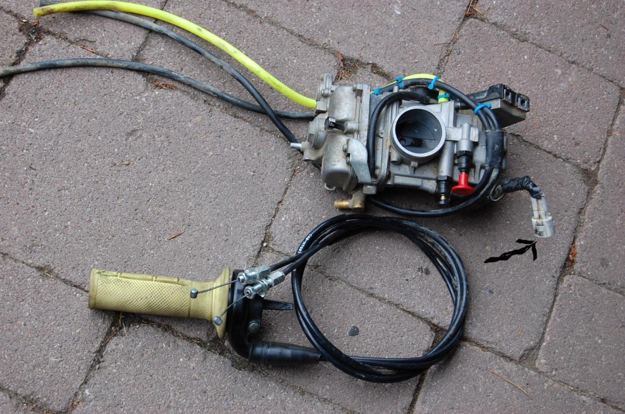 FCR-MX Throttle position sensor cover