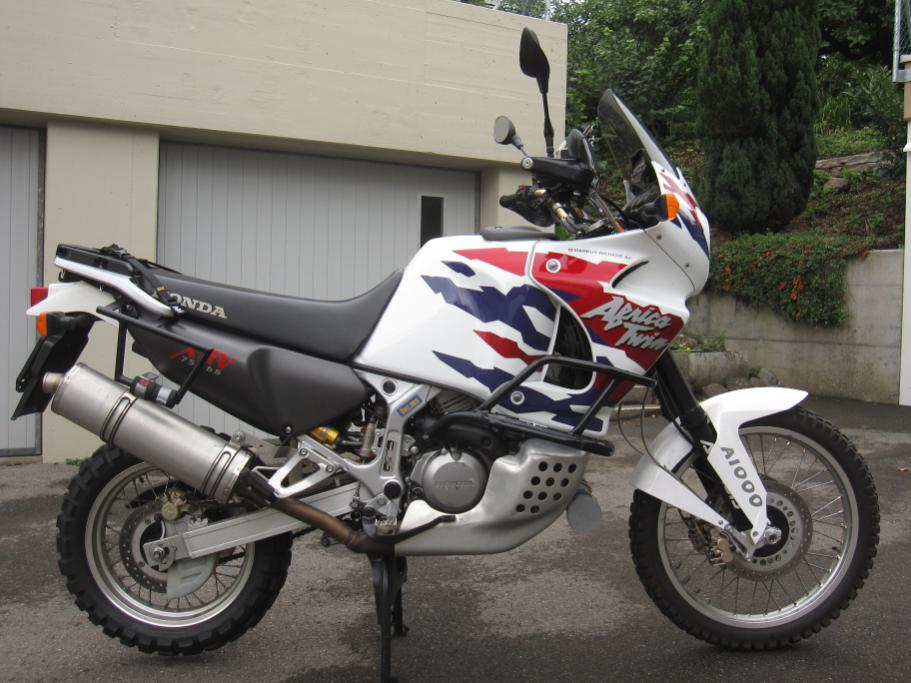 for sale honda africa twin xrv750 rd07a 1998. Black Bedroom Furniture Sets. Home Design Ideas