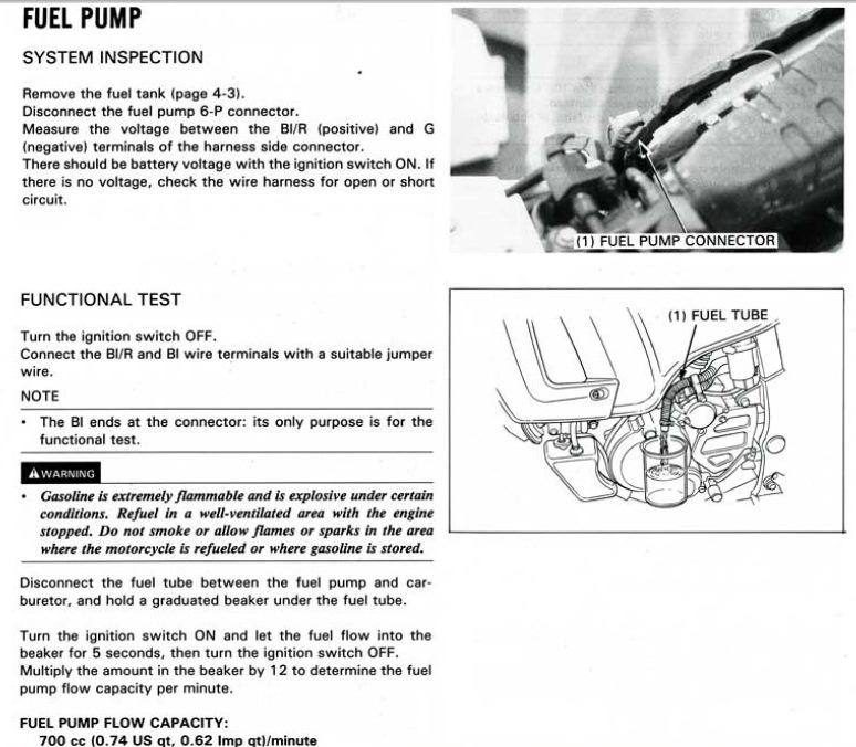 Precision Fuel Pump Wiring Harness Diagram