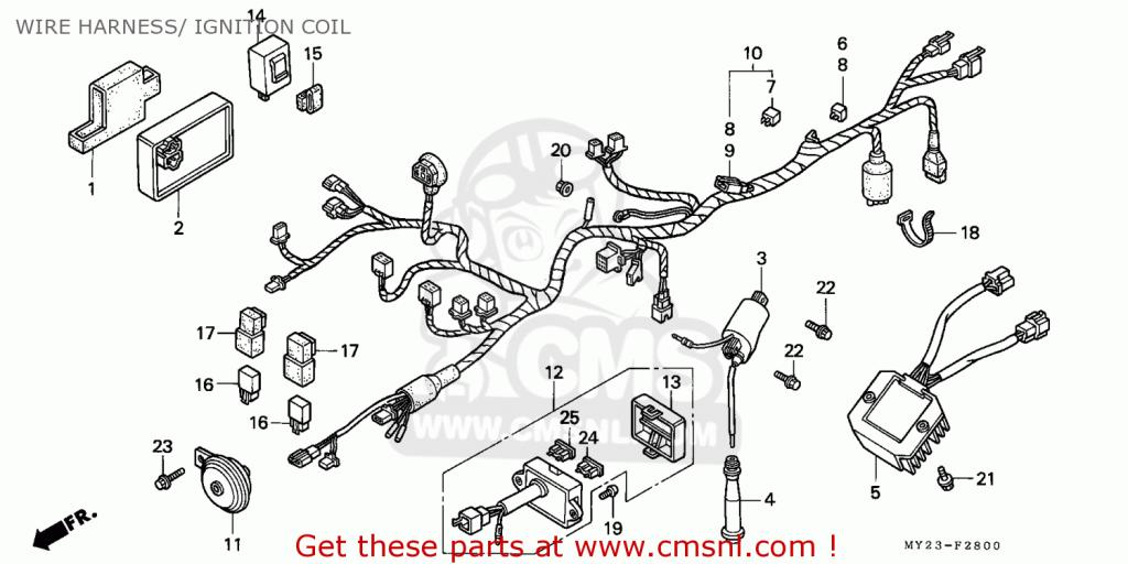 dominator wiring diagram honda nx650 dominator 1993 spainmkh wire harness