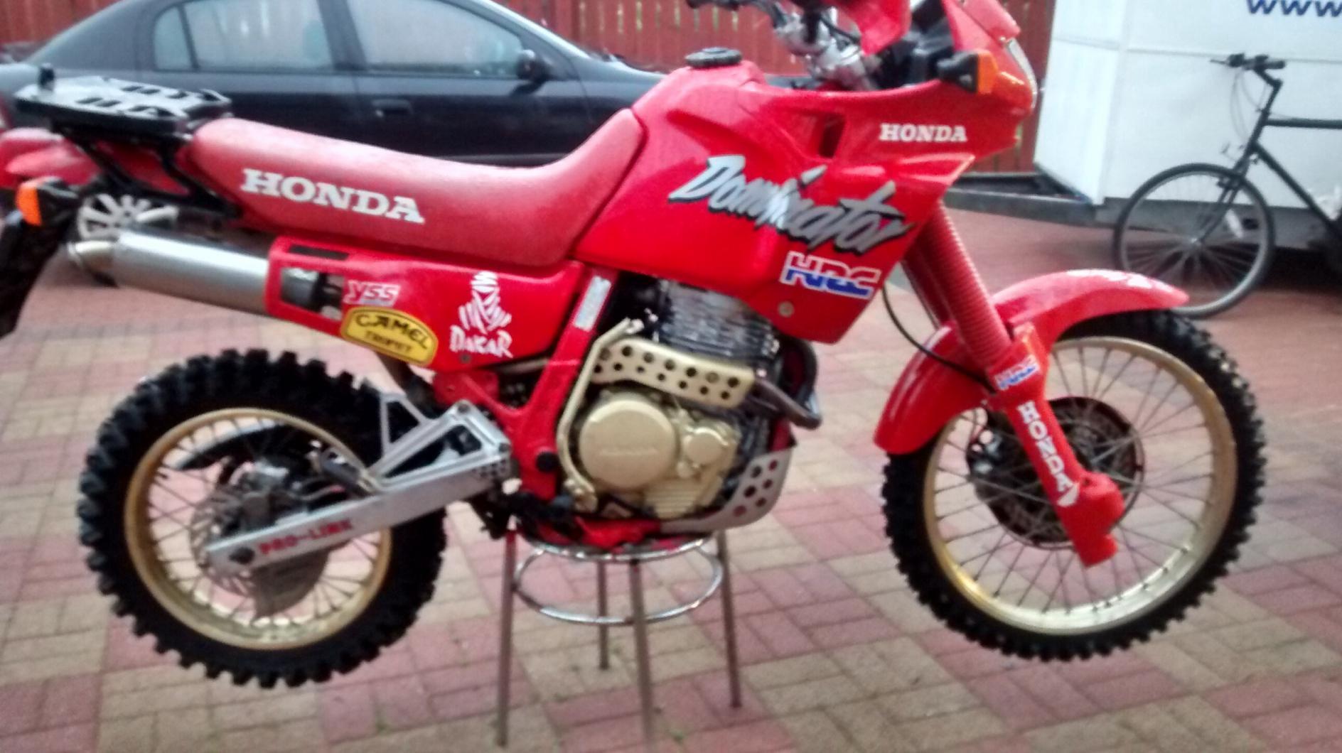 HONDA honda-650-nx-dominator-rd02-1990-permis-a2 occasion