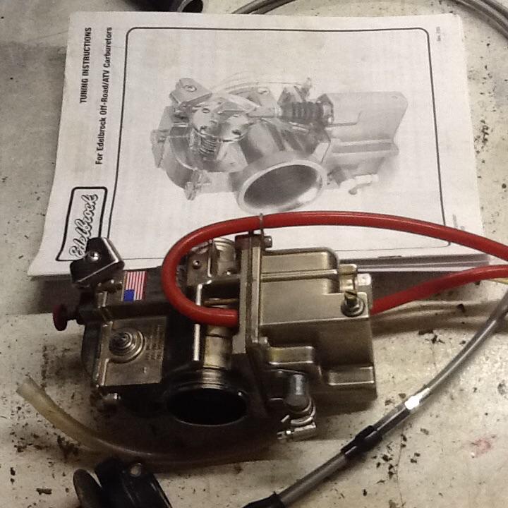 For Sale: Pumper carb ( edelbrock) xr250