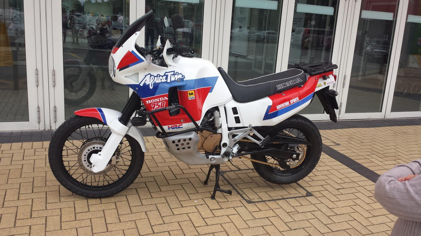 for sale honda africa twin rd04 show bike fully restored. Black Bedroom Furniture Sets. Home Design Ideas
