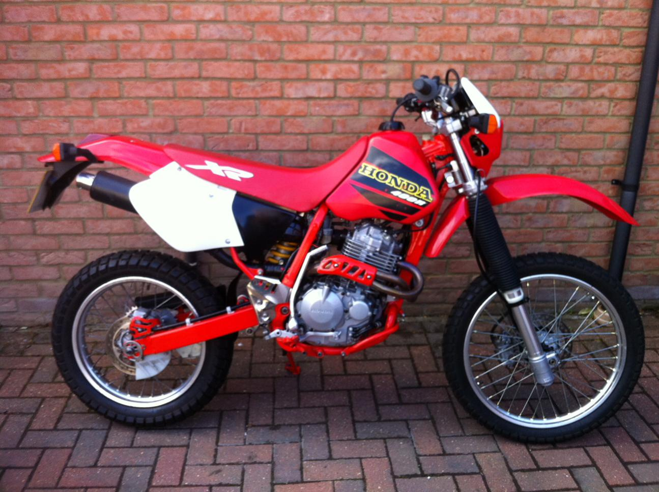 Crf450 forks on an XR400