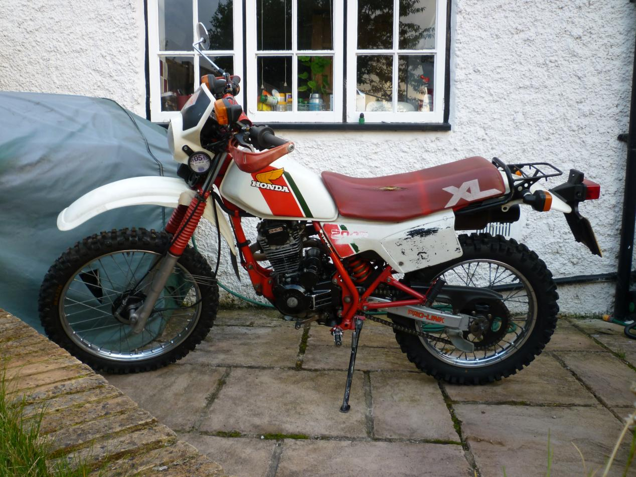swap 1984 honda xl 200 with kick electric for sale or swap. Black Bedroom Furniture Sets. Home Design Ideas