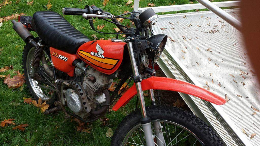 1978 Honda Xl 125 Lights