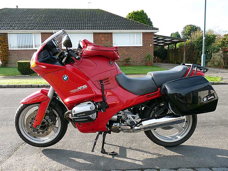 Sold Bmw R1100rs 1993